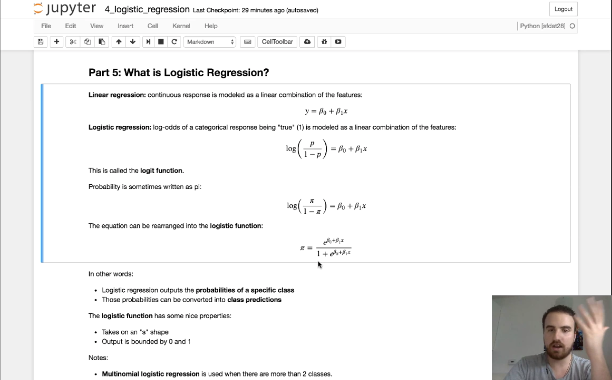 Module 4: Logistic Regression Part 2