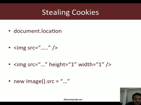 Javascript for Pentesters: Stealing Cookies