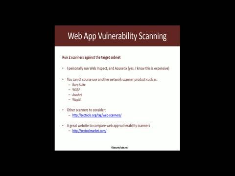 Web App Vulnerability Testing Part 1