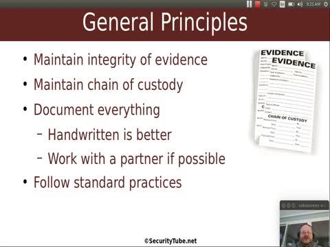 Forensic Basics: Introduction