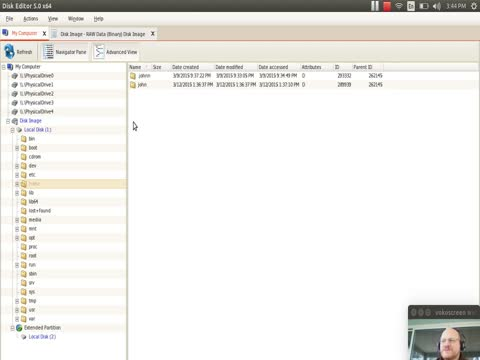 Filesystem Analysis: Superblocks