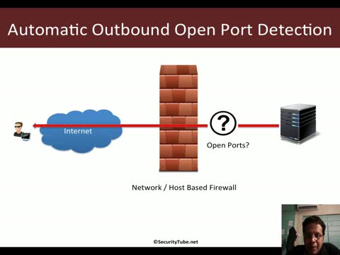 Pentesting Windows Endpoints: Automatic Outbound Open Port Detection
