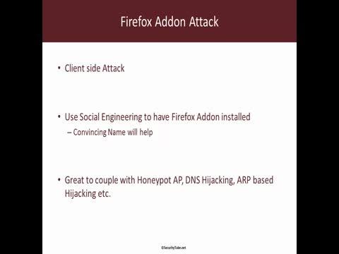 Firefox Addon Attack