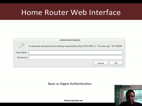 Pentesting Routers: Attacking the Web Admin Interface