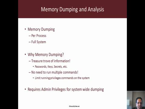 Remote Memory Dumping and Analysis