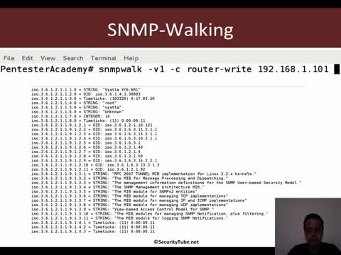 Pentesting Routers: SNMP Post Exploitation