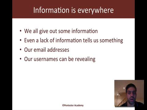 Information is Everywhere: Dating