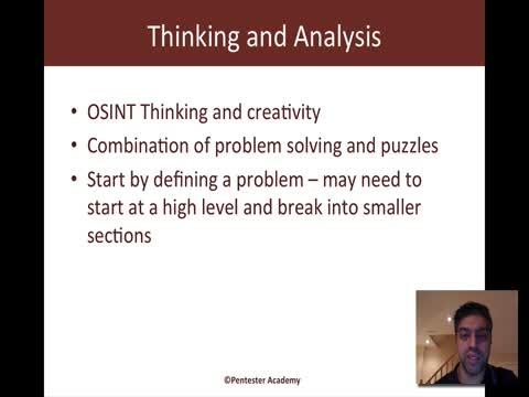 Thinking and Analysis