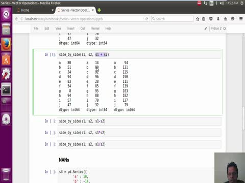 Pandas Series: Vector Operations