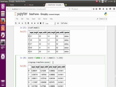 Pandas Dataframe: Split, Apply, Combine, Filter