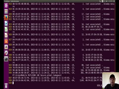 Airodump-NG Scan Analysis Part 1