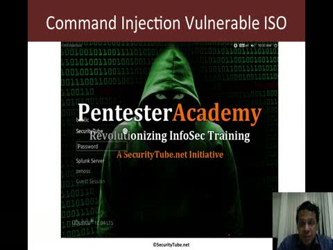 Command Injection ISO: Intro and Install