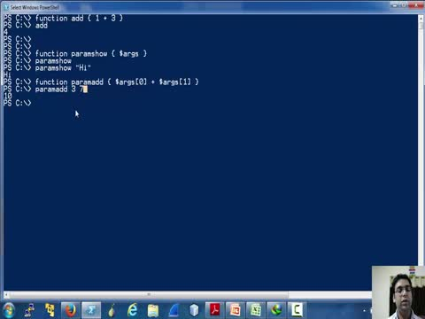 Functions in Powershell Part 1