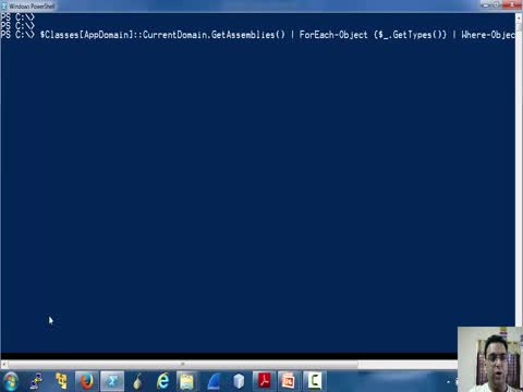 Using .NET in Powershell Part 1
