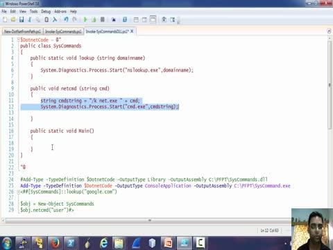 Using .NET in Powershell Part 4
