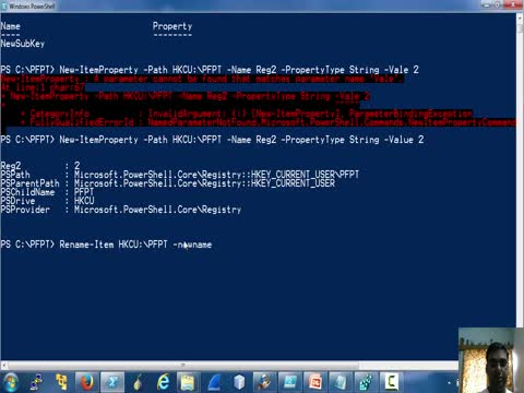 Registry and Powershell Part 2