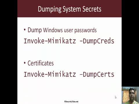 Dumping System Secrets Part 1