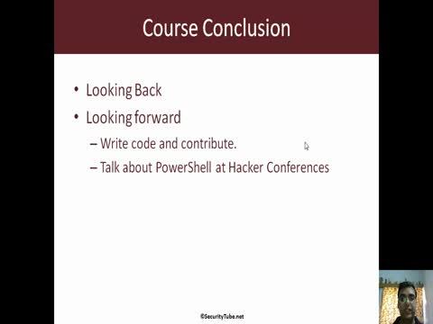 Course Conclusion