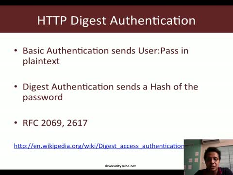 HTTP Digest Authentication RFC 2069