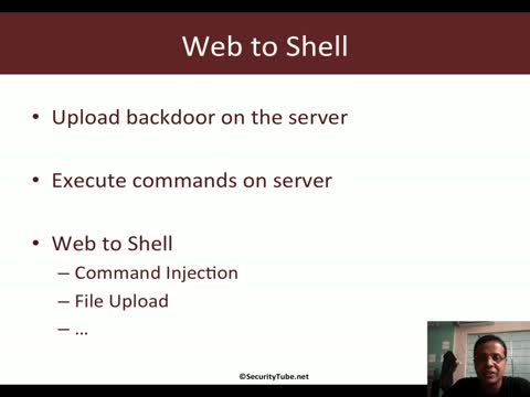 Web to Shell on the Server