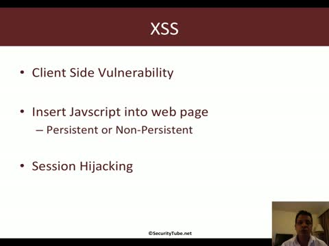 XSS: Cross Site Scripting