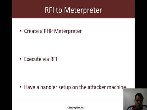 RFI to Meterpreter