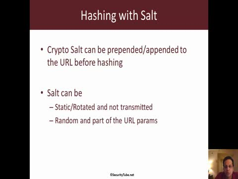 Open Redirects: Hashing with Salt