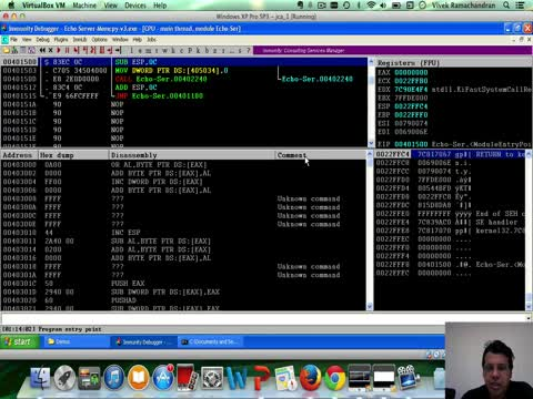 Exploiting Echo Server v3 Part 1