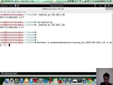 Exploiting an SSH Server Part 2