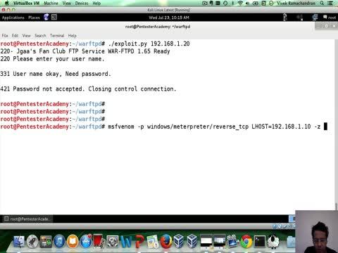 Exploiting an FTP Server Part 2 | Exploiting Simple Buffer Overflows