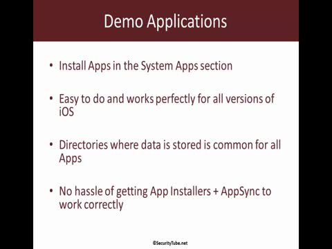 Addendum: Installing Course Applications on iOS8