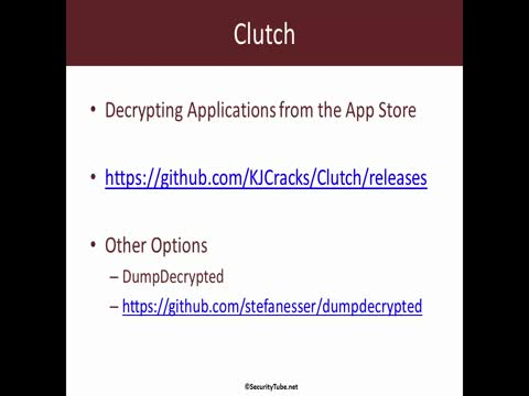 Addendum: Installing Clutch, GDB, Class-Dump on iOS8