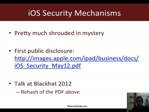Module 1: iOS Security Mechanisms