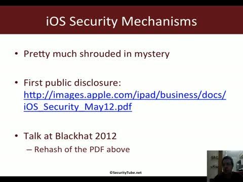 Module 1: iOS Security Mechanisms