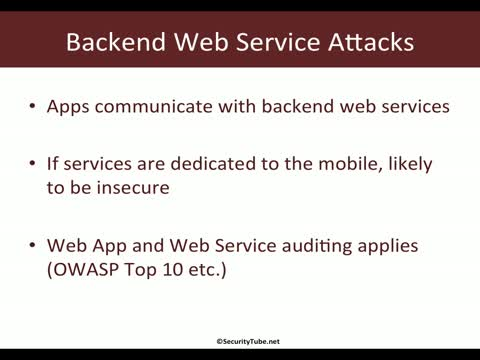 Module 4: Other Attacks
