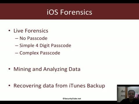 Module 5: iOS Forensics Basics