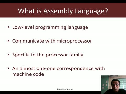 Module 1: What is Assembly Language?