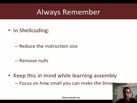 Module 1: Reducing Instruction Size and Removing Nulls