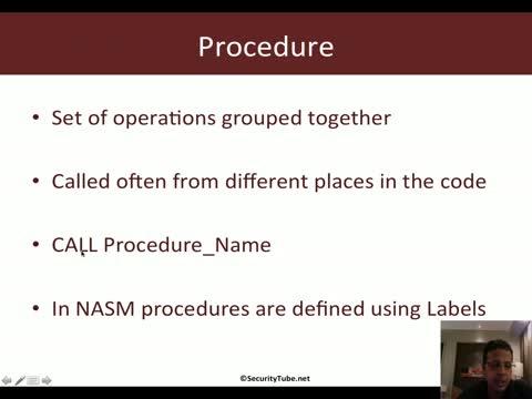 Module 1: Procedures
