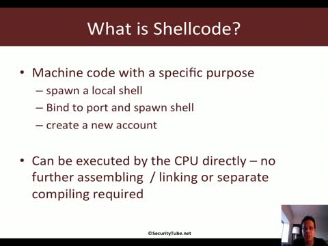 Module 2: Shellcoding Basics