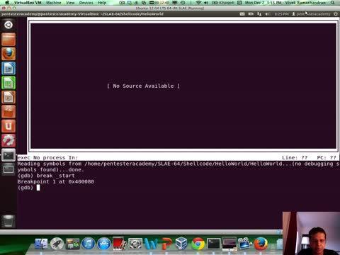 Module 2: HelloWorld Shellcode JMP-CALL-POP GDB Analysis