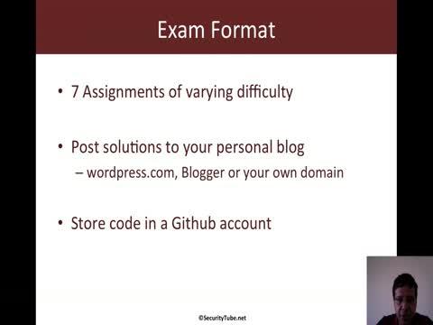 Module 2: Exam Format