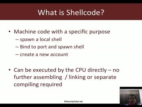 Shellcode Basics