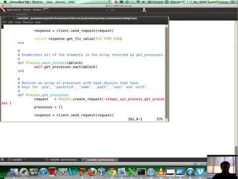 Meterpreter Scripting: Process Name Search