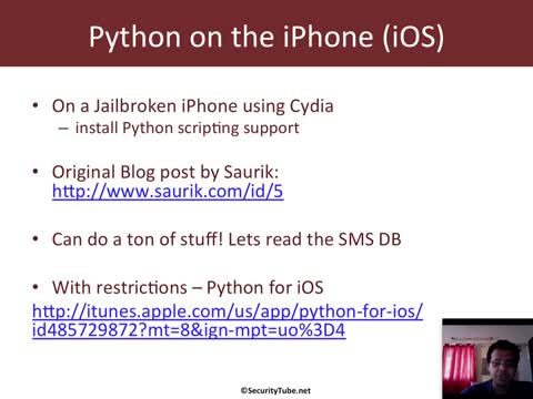 Module 1: Python on other Devices