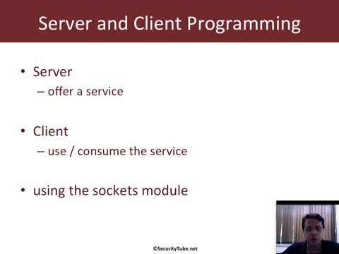 Module 3: Client - Server Programming Basics