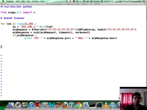 Module 3: Programming with Scapy