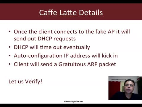 Caffe Latte Attack Demo