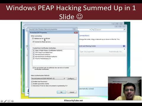 Cracking PEAP in a Windows Network