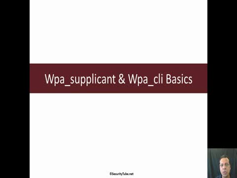 Wpa_supplicant & Wpa_Cli Basics